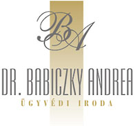 DR. BABICZKY ANDREA  ÜGYVÉDI IRODA